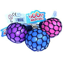Gooey Mesh Ball Assorted Colours