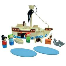 Kaper Kidz - Wooden Pirate Playset