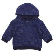 Bebe Felix Planet Hooded Sweat Top - Navy