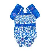 Coco & Ginger Sadie Sunsuit - Sapphier Dahlia Patch