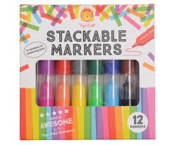 Tiger Tribe StackableMarkers 12pk