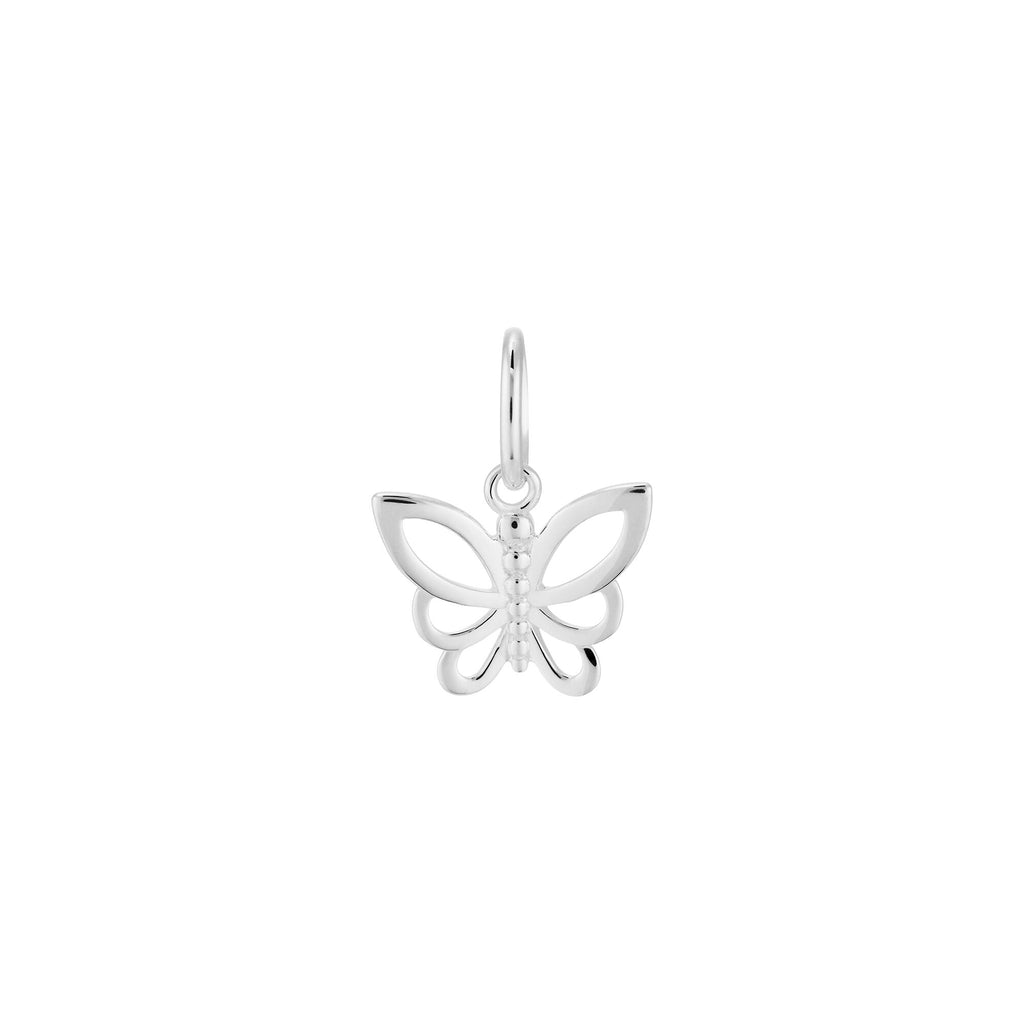 Kirstin Ash Little Butterfly Charm Silver