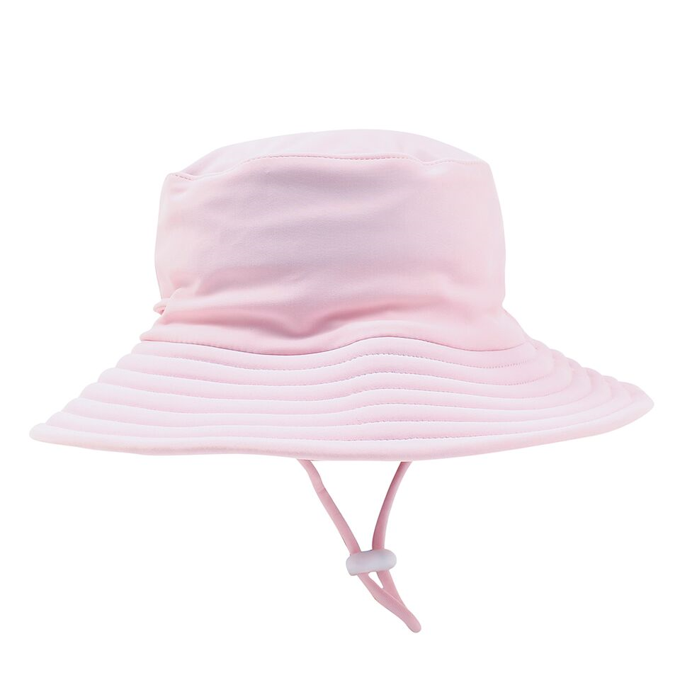 Bebe Emma Plain Sun Hat Pink Angel