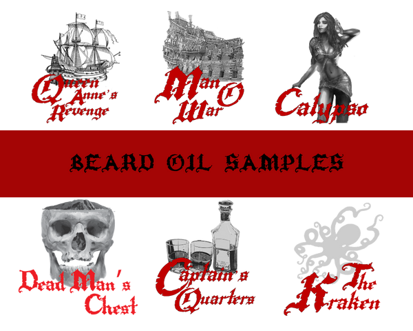 Beard Oil Samples