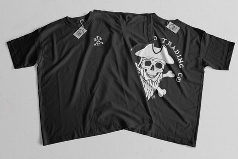 Bizr Designs Blackbeard Trading Co. Shirts