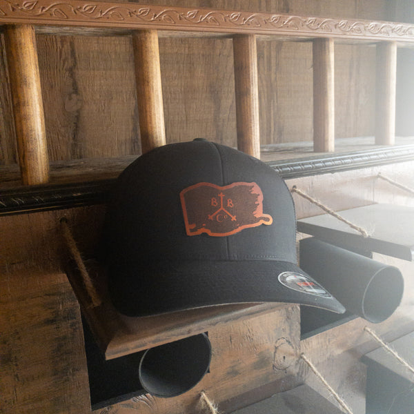 Leather BBTCo. Flag Hat