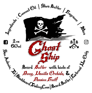 Beard Butter - Ghost Ship (Free Shipping)