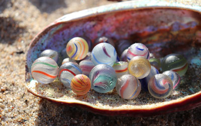For the Love of German Sea Marbles