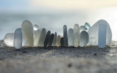 Gray Sea Glass