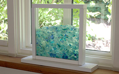 Enter to Win a Bling Beach Glass Window!