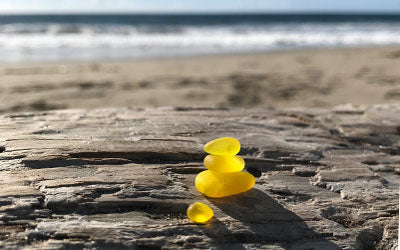 Yellow Sea Glass