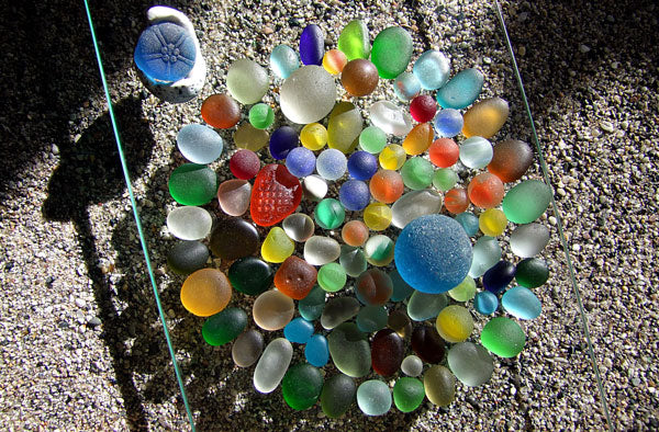 sea glass marbles germany