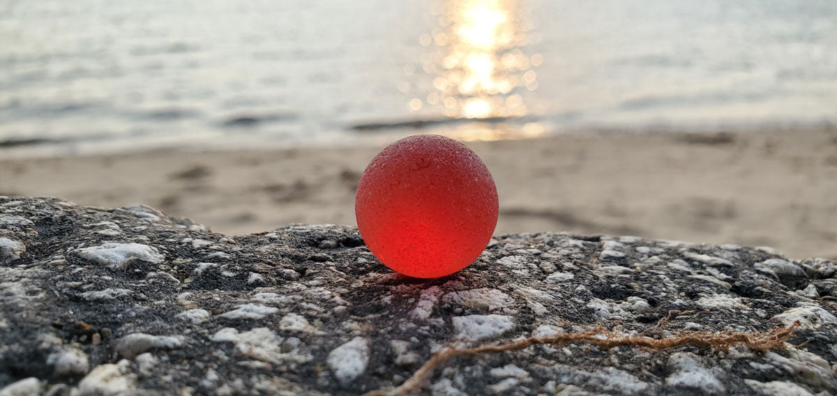 red beach marble