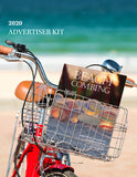 beach magazine advertising