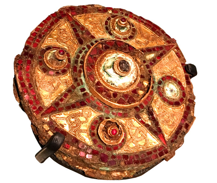 Anglo-Saxon brooch from Covent Garden,  London