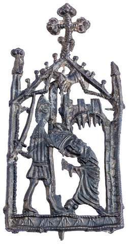 london thames pilgrim badge