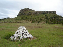 Rock Cairn at Mass Burial Site