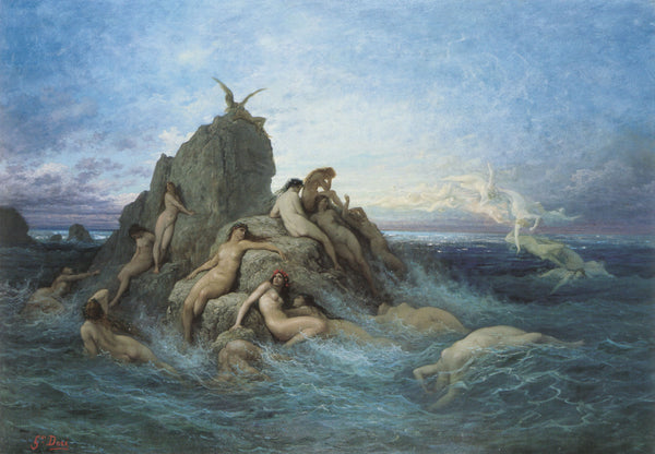 Mermaids, George Willoughby Maynard, 1889
