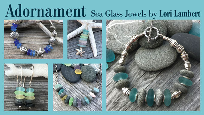 adornment sea glass and beach rock jewelry