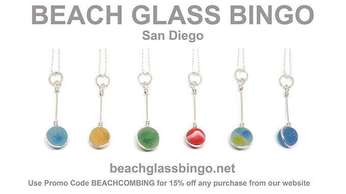 Beach Glass Bingo