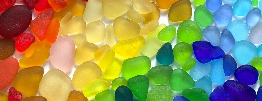 colors of sea glass