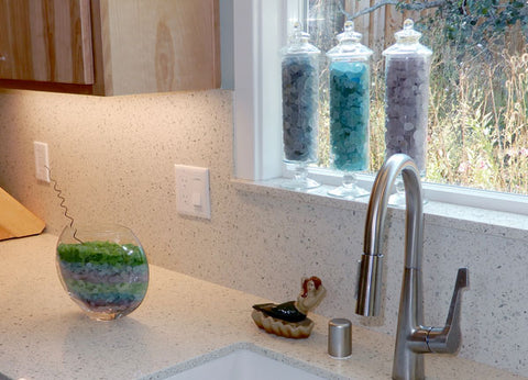 sea glass kitchen