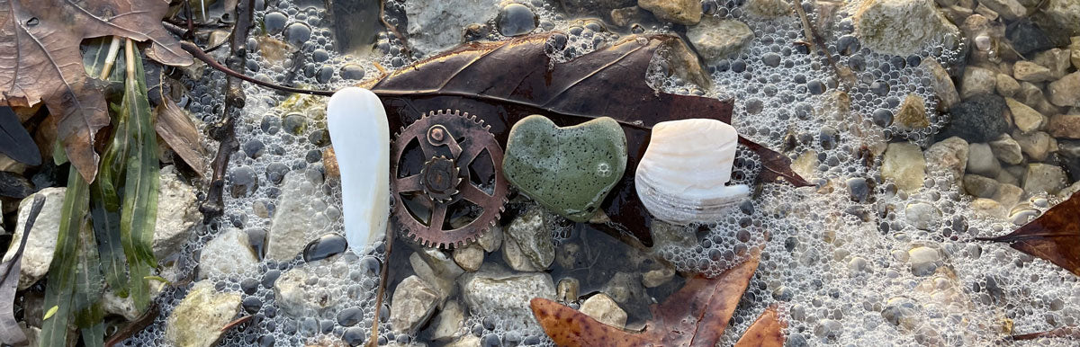 love made with lake michigan beach finds