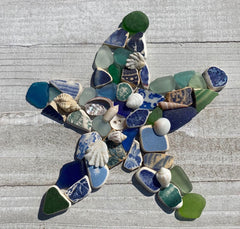 sea pottery star