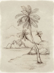 Sketch of a beach