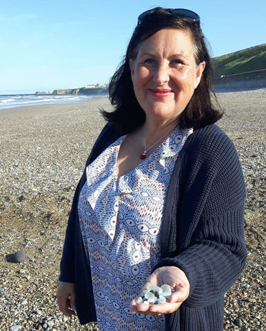 mandy peel english sea glass collector