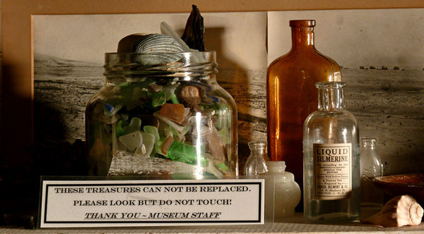 beachcomber museum shelf
