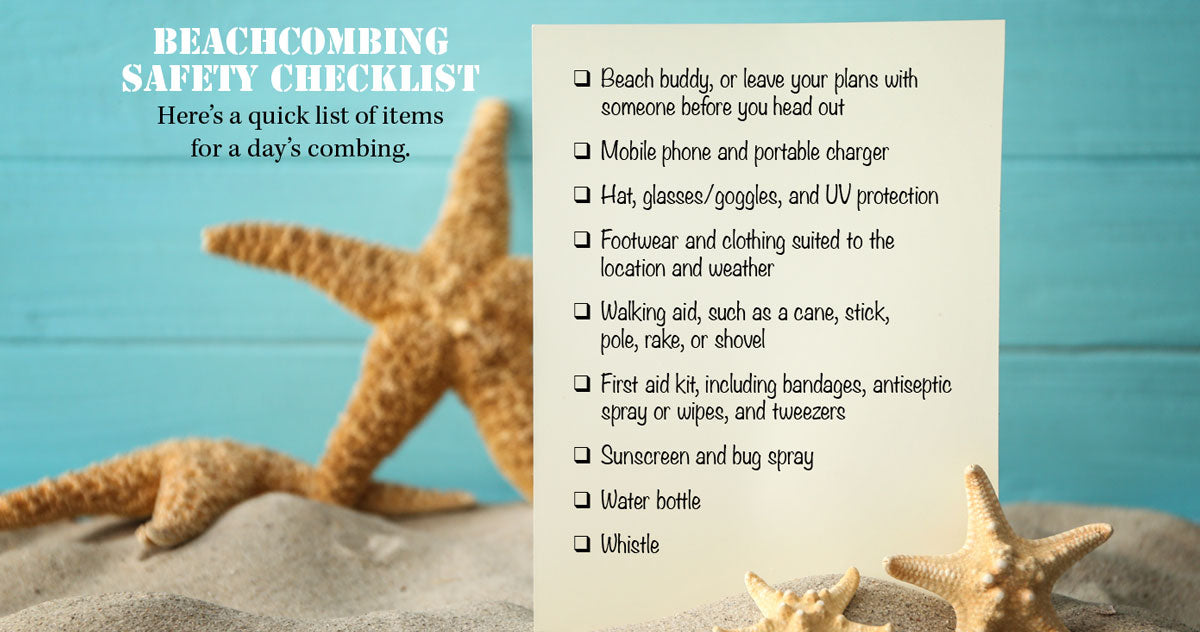 beach safety tips for beachcombers
