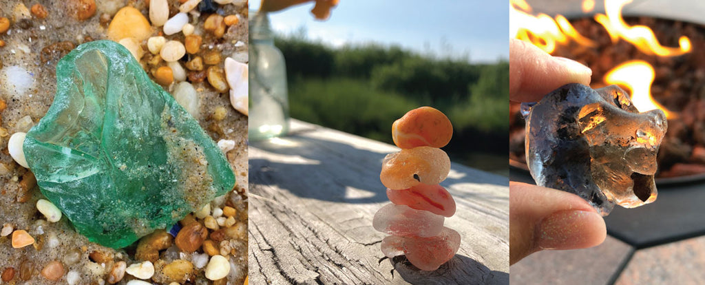 sea glass melts