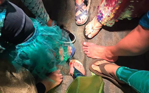 mermaid costume party