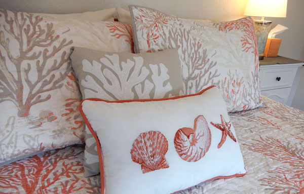 seaside bedding