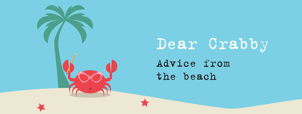 dear crabby beachcombing advice