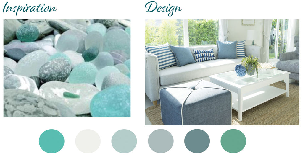 elegant beach house colors