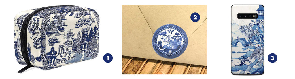 blue willow pattern products