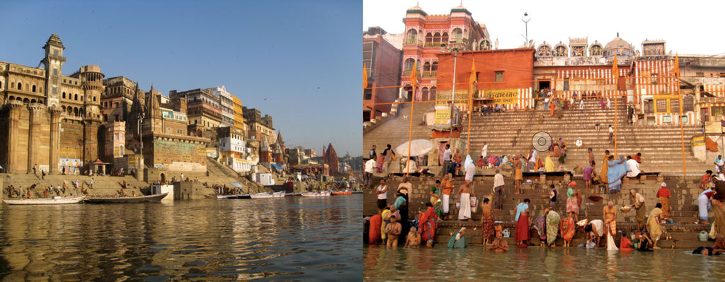 pilgrims visiting ganges