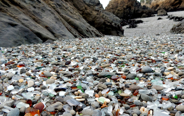 ft. bragg sea glass beach california