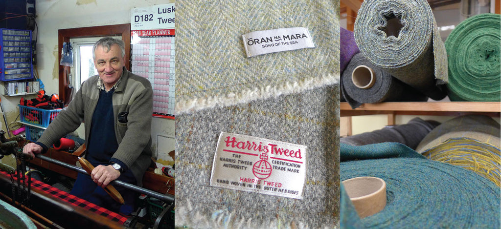 luskentyre harris tweed weaving