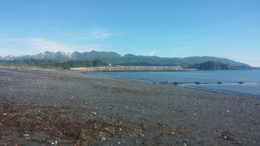 Jewel Beach, Kodiak, Alaska. Photo courtesy of Lydia Kimball