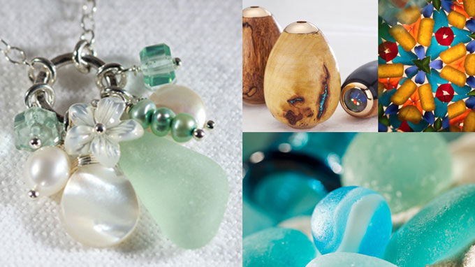 Katie Carrin Sea Glass Jewelry Designer