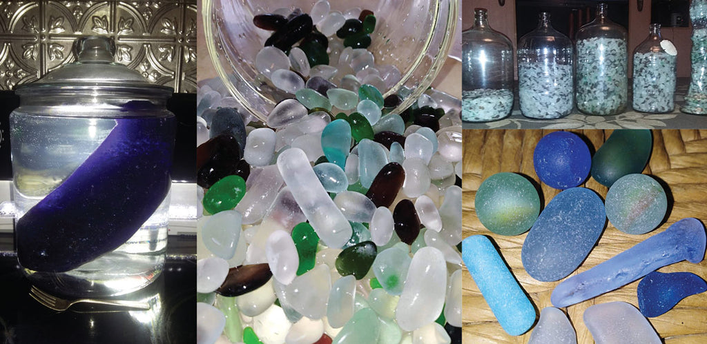 beach glass from Lake Erie