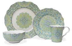 sea foam china pattern