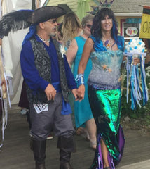 pirate mermaid wedding