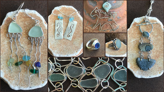 Mint Jellies Sea Glass Jewelry