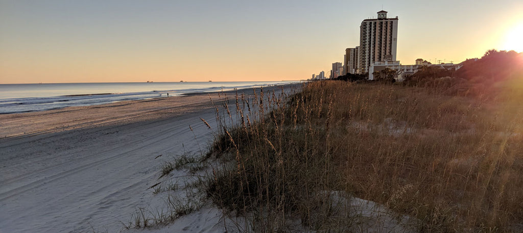 the grand strand in myrtle beach south carolina