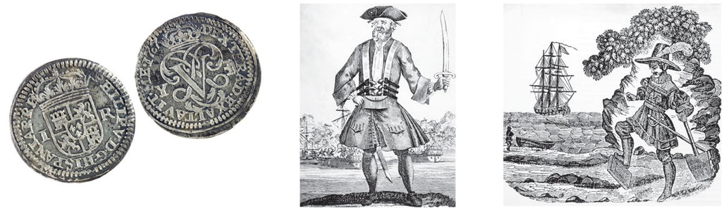 historical pirates and coins