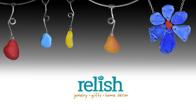 Relish Beach Glass Jewelry